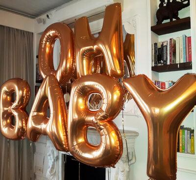 Harf Folyo Uçan Balon