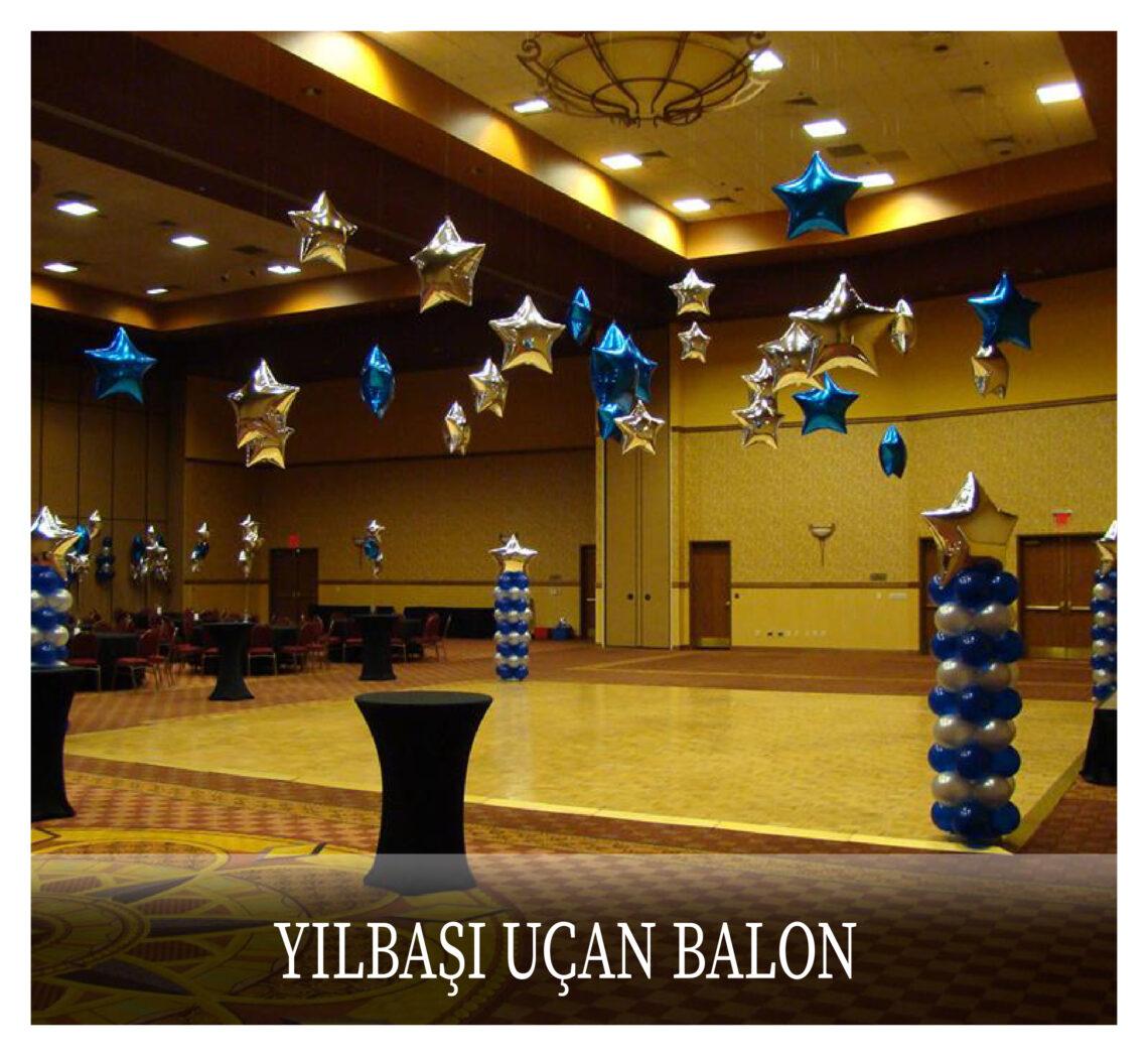 Yılbaşı Uçan Balonları