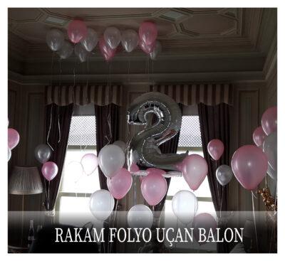 Rakam Folyo Uçan Balon